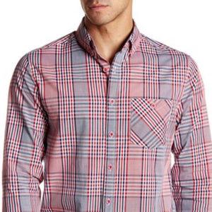 ZAK Shirts - ZAK BRAND - Bergeron Plaid Shirt (RED)